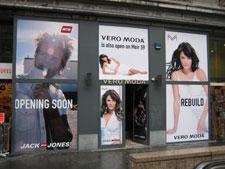 Vero ModaVero Moda te Antwerpen Projektafbouw.